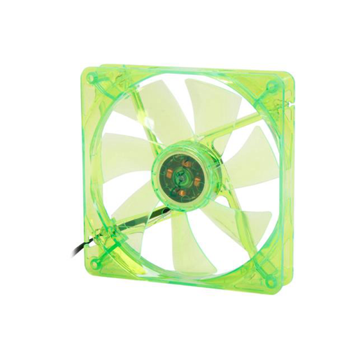 Apevia 14SL-GN 140mm Silent Green LED Case Fan