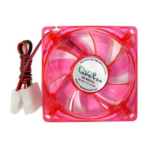 Apevia CF12SL-URED 120mm Red LED Case Fan