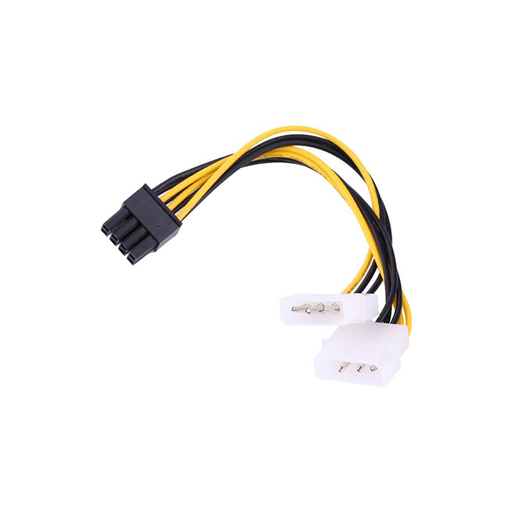 iStarUSA ATC-PCIEX-8-6 Two Molex to 6 or 8pin PCIe