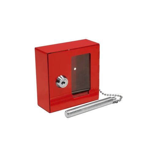 Barska AX11826 Breakable Emergency Key Box with Attached Hammer