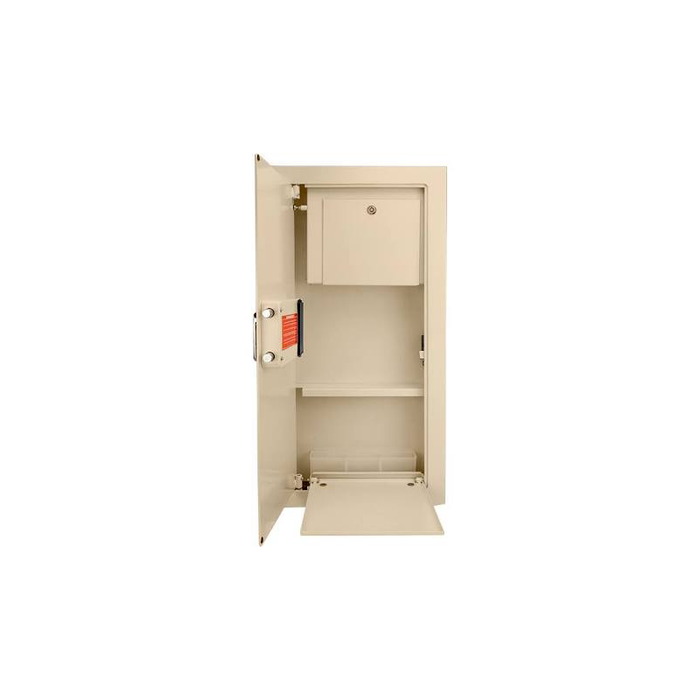 Barska AX12880 Large Biometric Wall Safe Left Opening