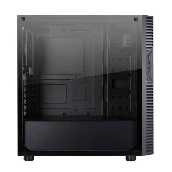 Silverstone PS14B-EG - Precision ATX Tower, with Window, Black