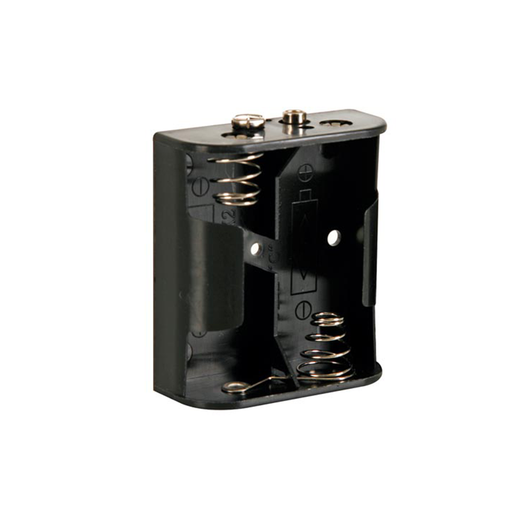 Velleman BH221B Battery Holder for 2 x C-Cell with Snap Terminals