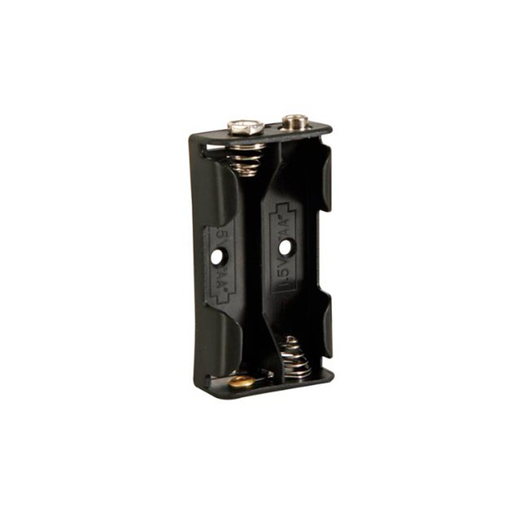Velleman BH321B Battery Holder for 2 x AA-Cell with Snap Terminals