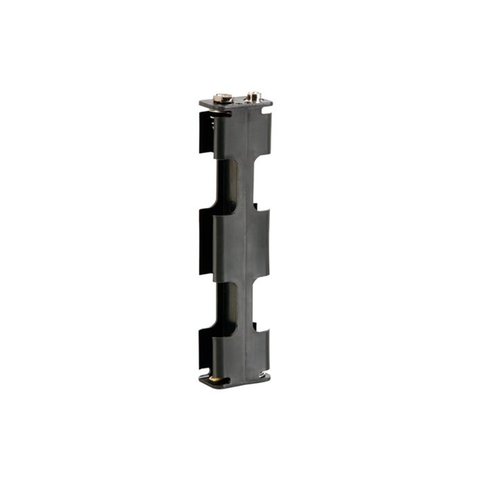 Velleman BH342B Battery Holder for 4 x AA-Cell with Snap Terminals