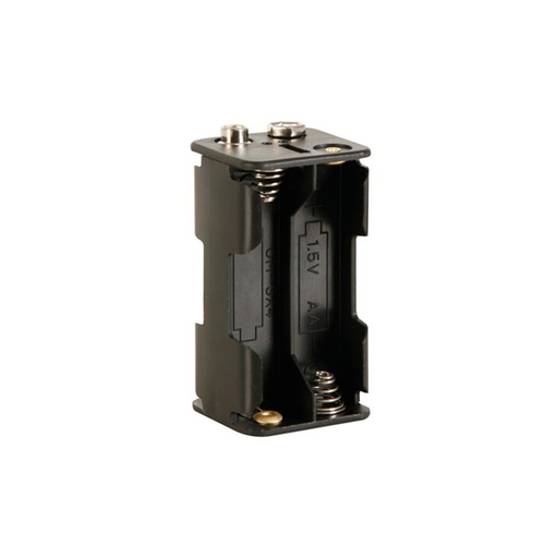 Velleman BH343B Battery Holder for 4 x AA-Cell with Snap Terminals