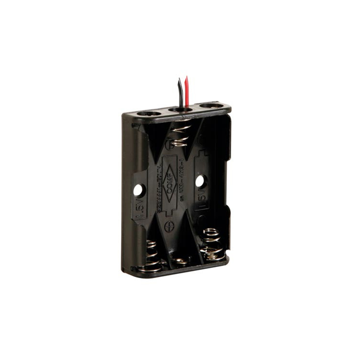Velleman BH431A Battery Holder for 3 x AAA-Cell with Wires