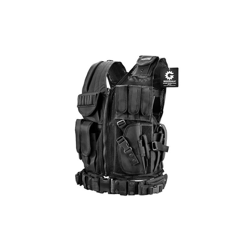 Barska BI12018 Loaded Gear Tactical Vest VX-200 (Black) Right Hand