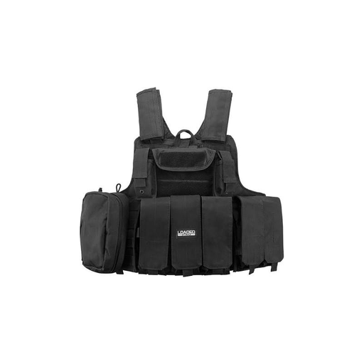 Barska BI12256 Loaded Gear Tactical Vest VX-300 (Black)
