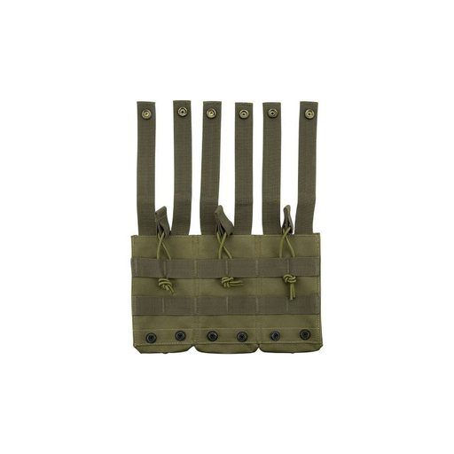 Barska BI12276 Loaded Gear CX-200 Triple Magazine Pouch (OD Green)