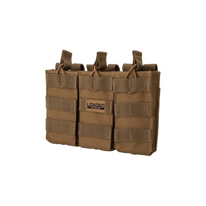 Barska BI12298 Loaded Gear CX-200 Triple Magazine Pouch (Dark Earth)
