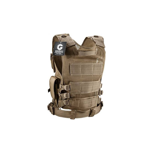 Barska BI12346 Loaded Gear Tactical Vest VX-200 Tan (Dark Earth)