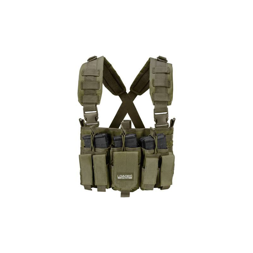 Barska BI12794 Tactical Chest Rig VX-400 Loaded Gear (OD Green)