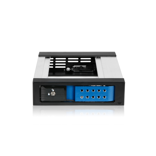 "iStarUSA BPN-DE110SS-BLUE  Trayless 5.25"" to 3.5"" SATA SAS 6 Gbps HDD Hot-swap Rack"