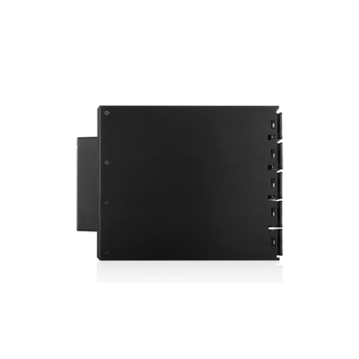 "iStarUSA BPN-DE350SS-BLACK  Trayless 3x 5.25"" to 5x 3.5"" SAS SATA 6 Gbps HDD Hot-swap Rack"