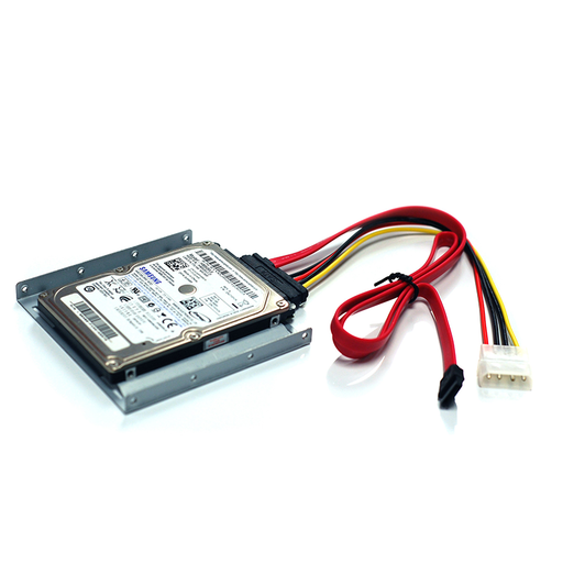 Bytecc Bracket-25SA HDD/SSD Metal Mounting Kit with SATA+Power cable