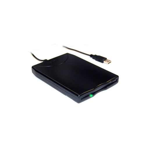 Bytecc BT-144 Slim Black USB External Floppy Disk Drive