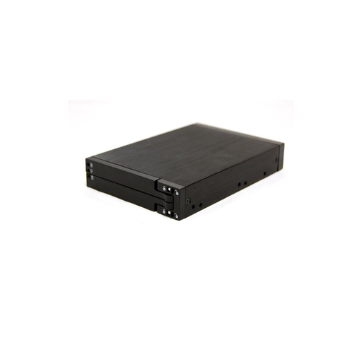 "Bytecc BT-M240-BK  Dual 2.5"" SATA Internal Enclosure (Mobile Rack) - Tray Less Design"