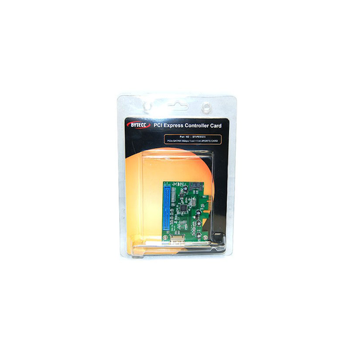 Bytecc BT-PES321I PCIe SATAIII 6Gbps 1 INTERNAL SATA port + 1 EXTERNAL eSATA port Host Card