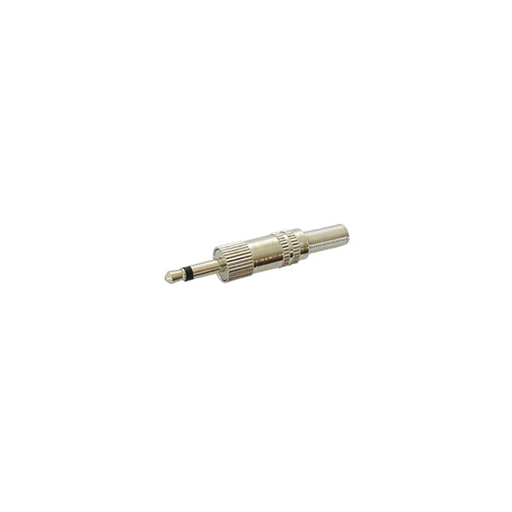 "Velleman CA003 1/8"" Mono Plug with Strain Relief, Nickel"