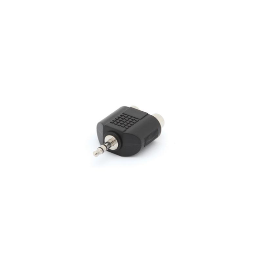 "Velleman CAA20 Dual Phono (RCA) Jack to 1/8"" Phone Stereo Plug Adapter Velleman CAA20 Dual Phono (RCA) Jack to 1/8"" Phone Stereo Plug Adapter"