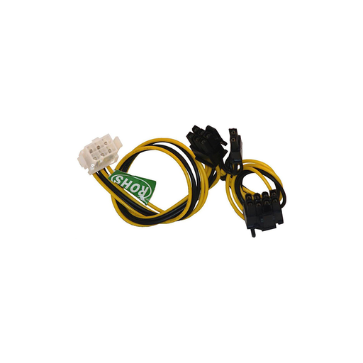 Athena Power CABLE-EPCIE1628 PCI Express 6pin to Dual 8pin(6+2) Linear Extension Power Converter