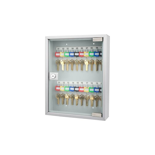 Barska CB12952 20 Position Key Cabinet with Glass Door