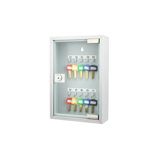 Barska CB12986 10 Position Key Cabinet with Glass Door