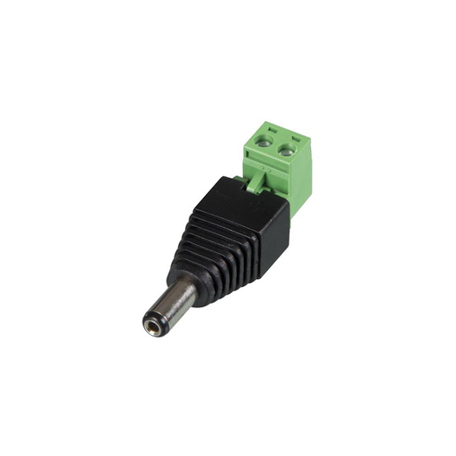 Velleman CD020 Dc Plug 5.5X2.1mm Male To Screw Terminal (5Pcs)