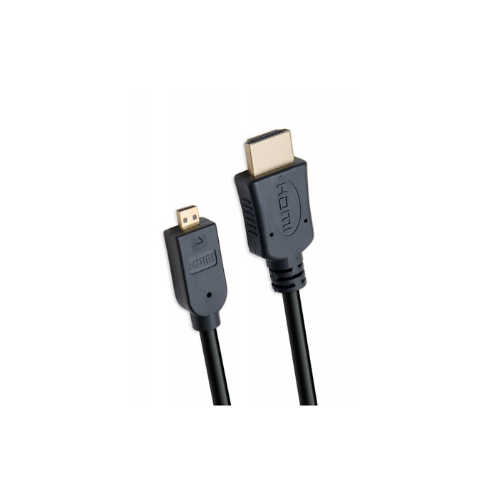 Syba CL-CAB31024 6 ft Micro HDMI to HDMI Cable