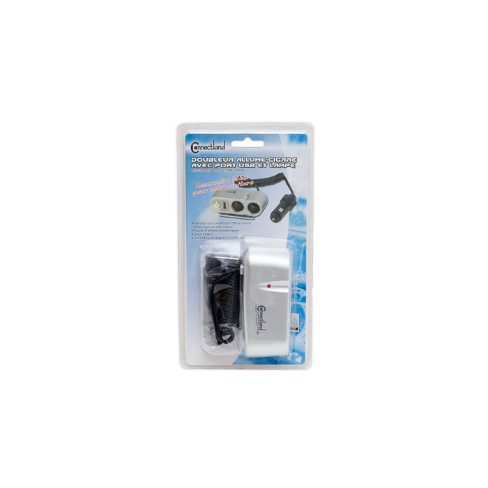 Syba CL-CAR-U2SOC USB Car Charger with 2 Socket Car Splitter Adapter Charger