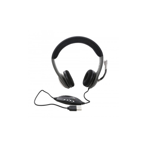 Syba CL-CM-5008-U USB Stereo Headphone with Built-in Microphone