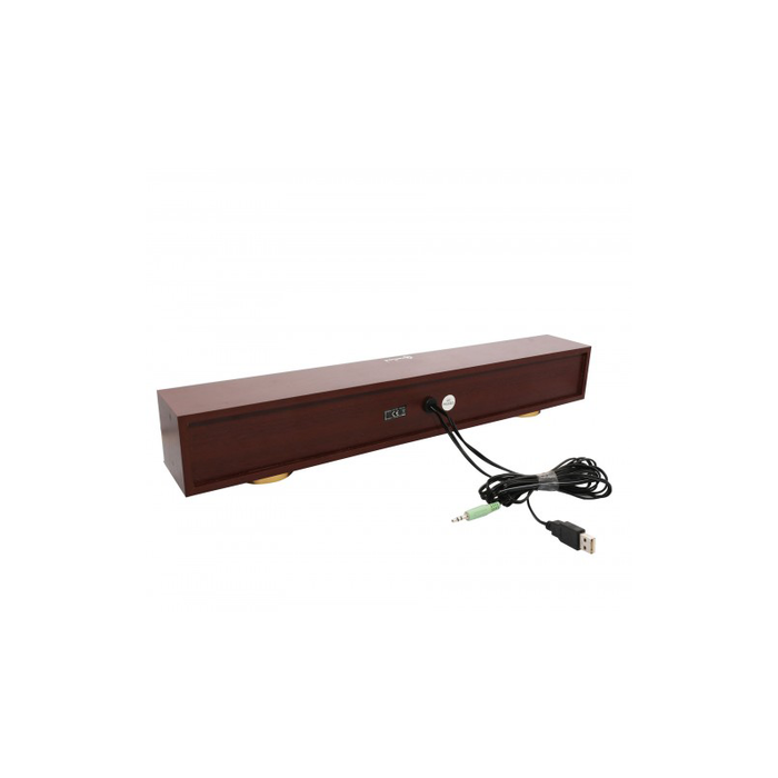 "Syba CL-SPK20150 17"" USB Powered Sound Bar Speaker"