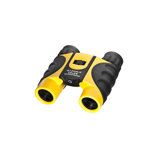 Barska CO11010 12x25mm Colorado Yellow Waterproof Compact Binoculars