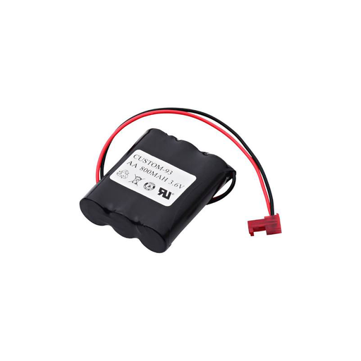 Dantona CUSTOM-93 3.6V Replacement Battery 800 mAh for Emergency