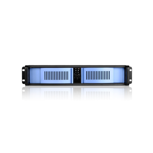 iStarUSA D-200-BLUE  2U Compact Stylish Rackmount Chassis