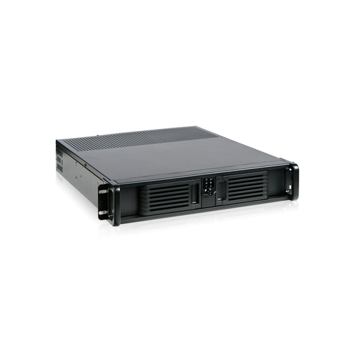 iStarUSA D-200-PFS 2U Compact Stylish Rackmount Chassis Front-mounted ATX Power Supply
