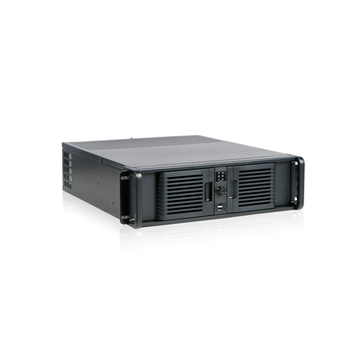 iStarUSA D-300-PFS 3U Compact Stylish Rackmount Chassis Front-mounted ATX Power Supply