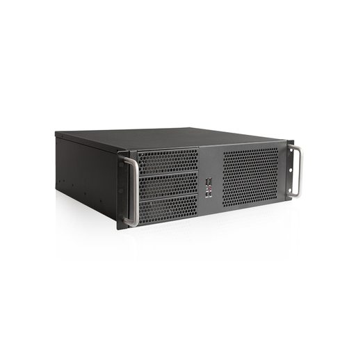 iStarUSA D-314-MATX 3U Compact Rackmount Chassis ATX Power Supply Compatible