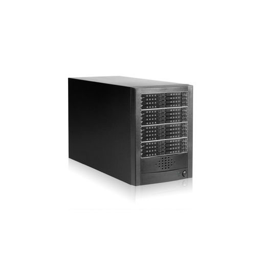 "iStarUSA DAGE32402S-8MS 32-bay 2.5"" Slim SAS/SATA 6.0 Gb/s miniSAS Hotswap Tower"
