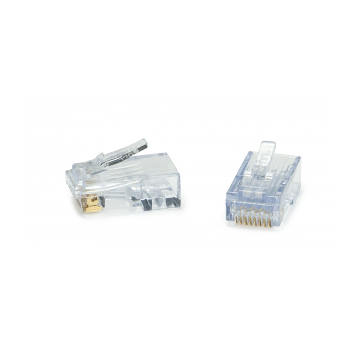 Platinum Tools 100028C ezEX®44 - ezEX-RJ45® CAT6 Connector - Pack of 50