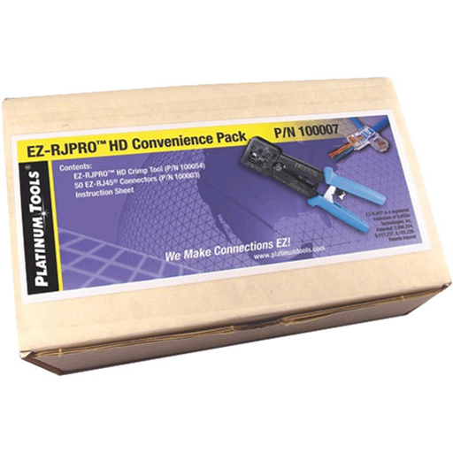 Platinum Tools 100007 EZ-RJPRO HD Convenience Pack