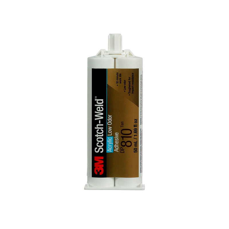 3M DP810 Black 50mL Scotch-Weld Low Odor Acrylic Adhesive