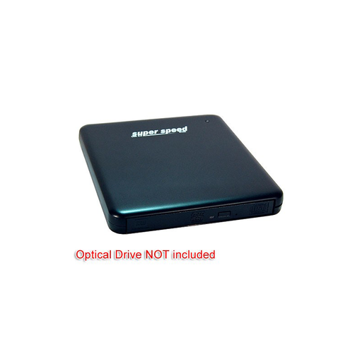Bytecc DVD-100U3  USB 3.0 External Slim O.D.D. Enclosure for Slim-SATA O.D.D. Devices