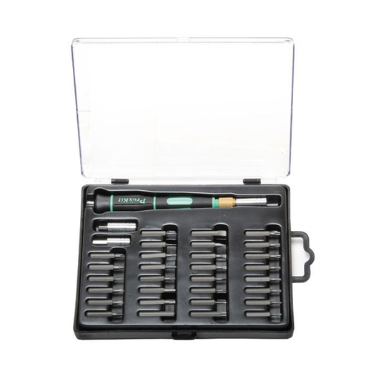 Eclipse 800-129 Screwdriver Set with Interchangeable Bits and 33 Pieces