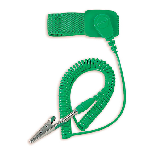 Eclipse 900-002 Adjustable ESD Wrist Strap, Green