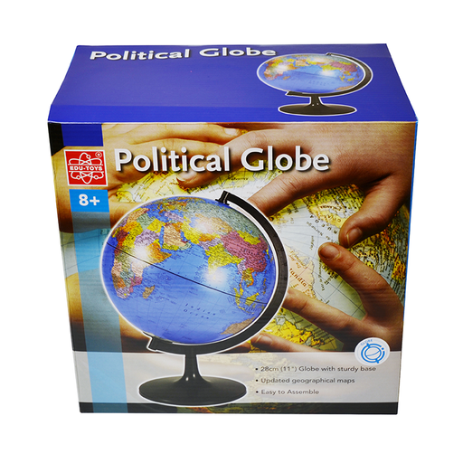 "Elenco EDU-36899 11"" Desktop Political Globe"