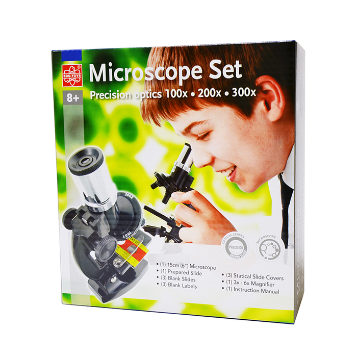 Elenco EDU-41003 100x, 200x, 300x Microscope Set