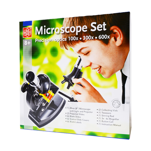 Elenco EDU-41004 Microscope Set with Light and Projector