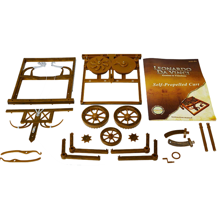 Elenco EDU-61008 Leonardo Da Vinci Self-Propelled Cart Kit